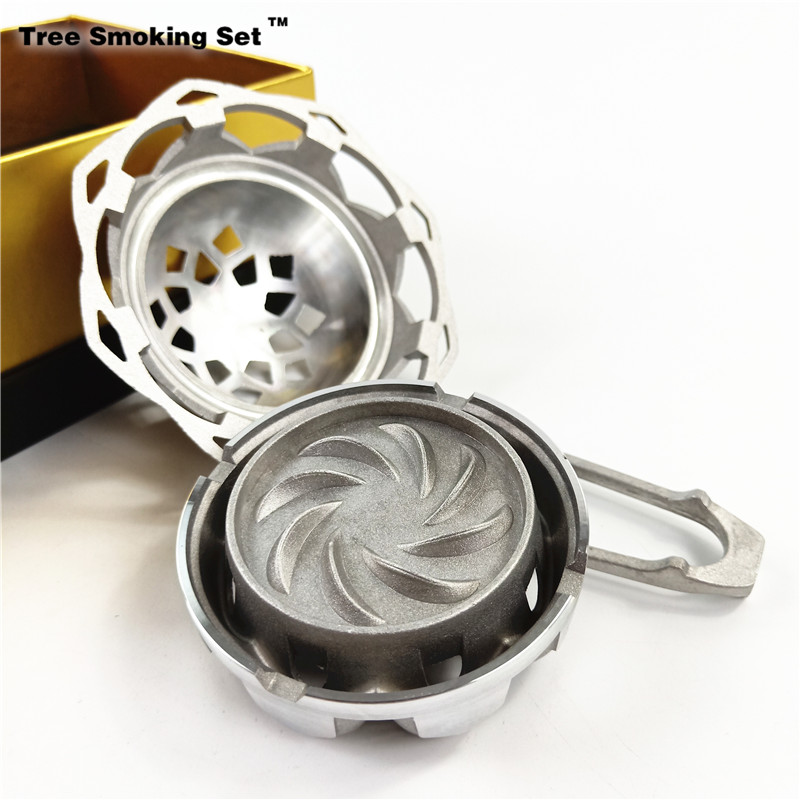 Big Size Ms Kaloud Louts Shisha Hookah Bowl Accessories Black Carbon Double Handle Stainless Steel Box Heat Charcoal Holder GiftBig Size Ms Kaloud Louts Shisha Hookah Bowl Accessories Black Carbon Double Handle Stainless Steel Box Heat Charcoal Holder Gift