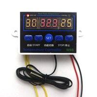 W88 Digital Thermostat Input DC 12V 120W Temperature Controller Temperature Control Switch 50 110C Output 10A