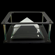 Generation II Holographic Tablet PC 3D Projection Pyramid DIY for Max 12 inches Tablet PC ipad 2 ipad 3  More Beautiful