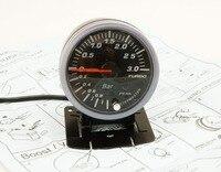 DRAGÓN de CALIBRE 60mm 3.0 BAR Turbo Boost Gauge Eléctricas Con la Advertencia