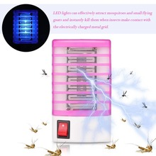 2018 New Mosquito Killer Lamps LED Socket Electric Mosquito Fly Bug Insect Trap Killer Zapper Night Lamp Lights lighting EU US