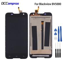 Original For Blackview BV5000 LCD Display Digitizer Sensor Glass Panel Assembly For Blackview BV5000 Display Screen LCD Phone