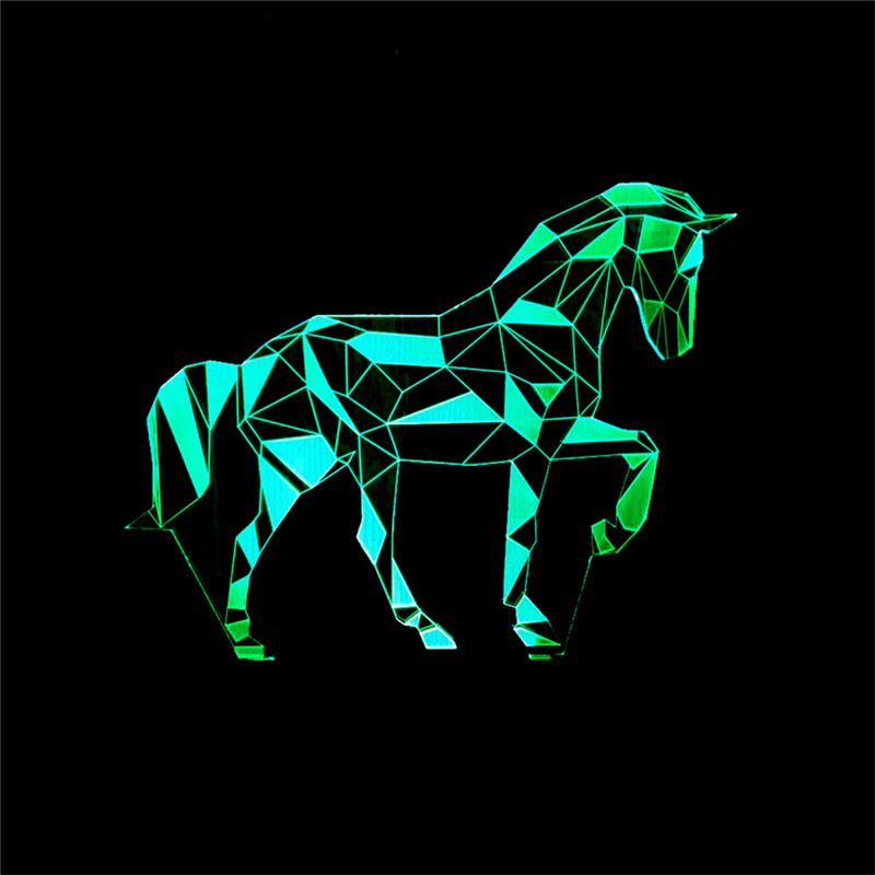 7 Color Horse Lamp 3D Visual Led Night Lights For Kids Touch USB Table Lampara Lampe Baby Sleeping Nightlight Star Light7 Color Horse Lamp 3D Visual Led Night Lights For Kids Touch USB Table Lampara Lampe Baby Sleeping Nightlight Star Light