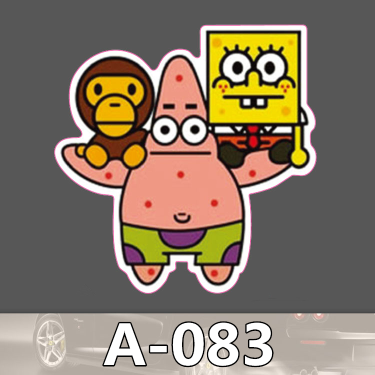 Online Buy Wholesale Spongebob Wall Decorations From China - Spongebob car decals