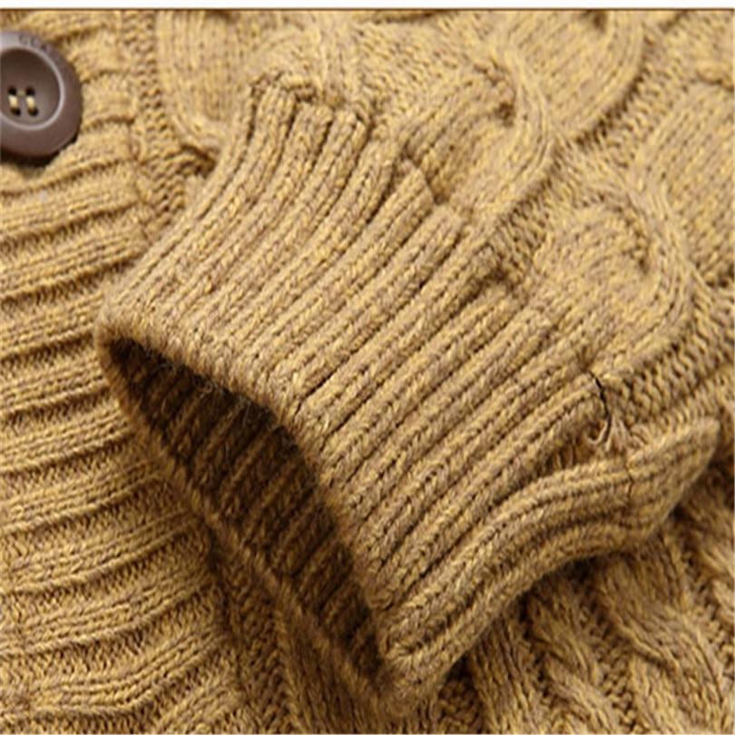 30% Wol 30% Katoen 2015 Nieuwe Collectie Thicken Winter Heren Truien - Herenkleding - Foto 5