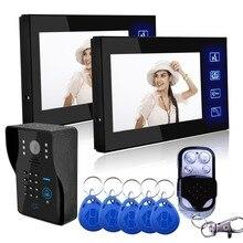 Europe Popular 7`` TFT Color Video door phone Intercom Doorbell System Kit IR Camera Doorphone Monitor Speakerphone Intercom цена