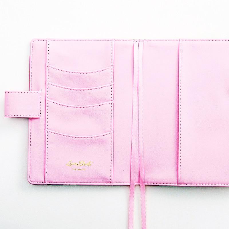 Lovedoki roztomilý kožený obal notebook A5A6 Planner Osobní - Bloky a záznamní knihy - Fotografie 3