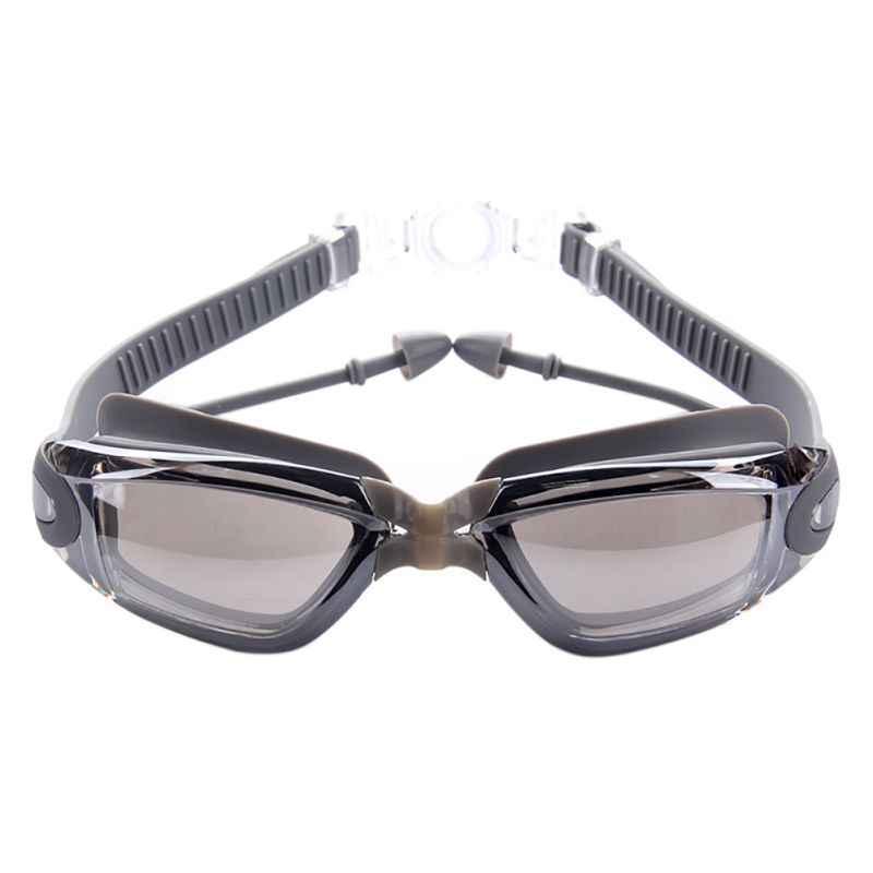 Mannen Hoge Kwaliteit Siliconen Waterdicht Zwembril Anti Fog Sport Zwemmen Bril Vrouwen