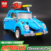 2017 LEPIN 21003 Series City Car Classical Travel Car model Building Blocks Bricks Compatible Technic Car Educational Toy 10252