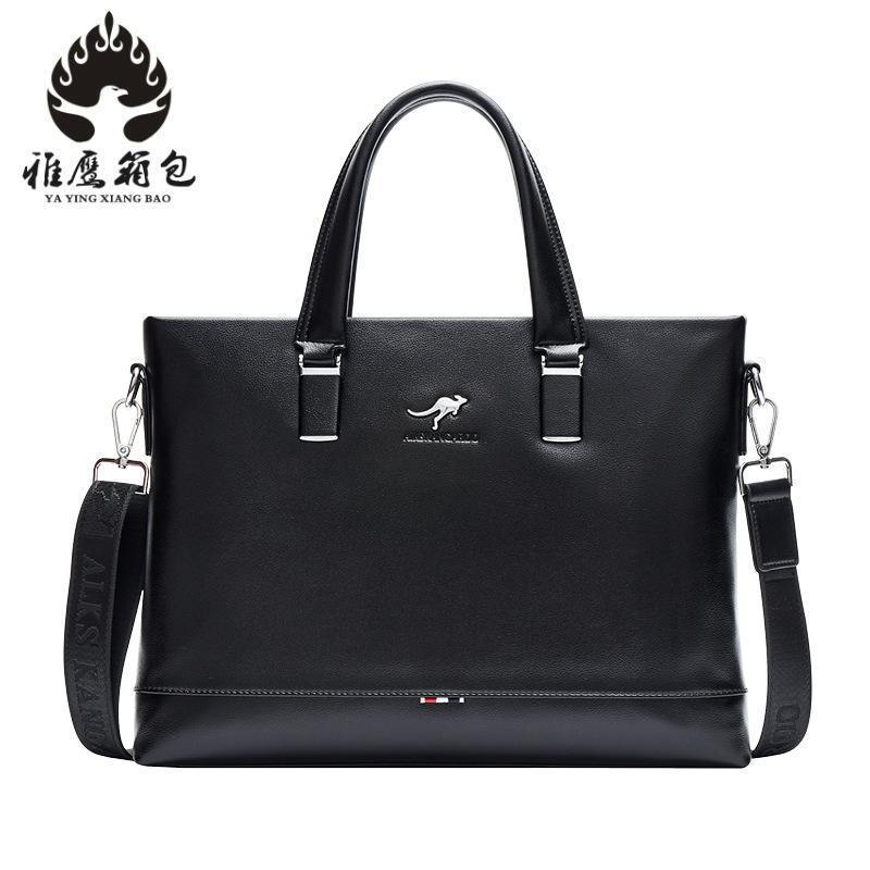 New 2018 Hot Sale Fashion Men Bags, Men Famous Brand Design Pu Leather Messenger Bag, High Quality Man Brand Bag Wholesale Price