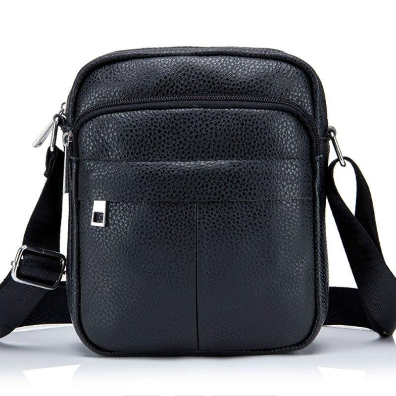 Высокое качество сумка мужская кожаная сумка Прочный Водонепроницаемый Мужская сумка для отдыха кошельки, портмоне почтовый пакет ...