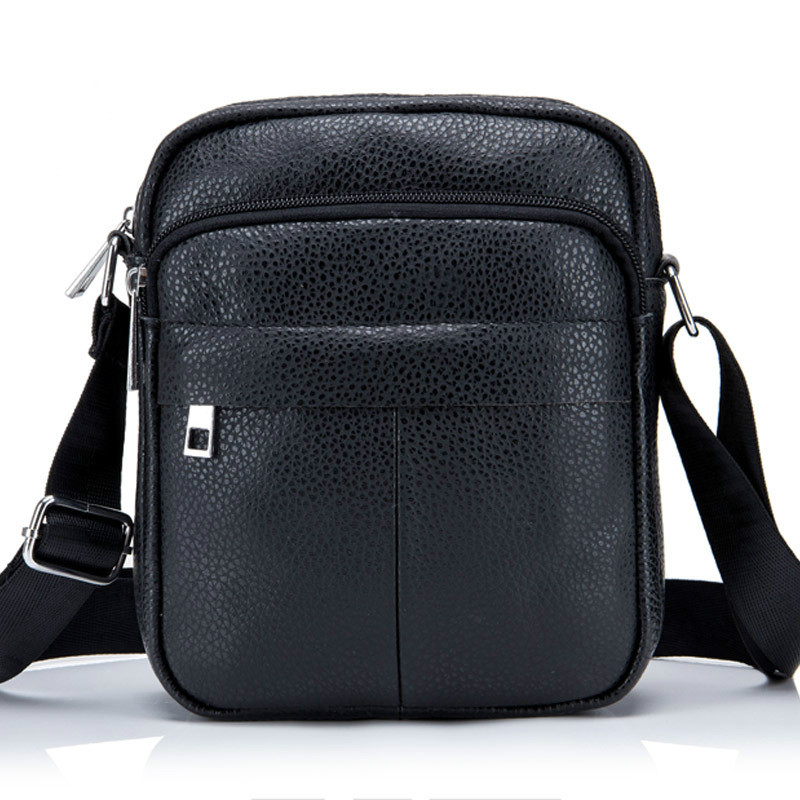 High Quality Messenger leather men 's shoulder bag durable waterproof men' s bag leisure purses purse postal packet