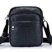 High Quality Messenger Leather Men S Shoulder Bag Durable Waterproof Men S Bag Leisure Purses Purse