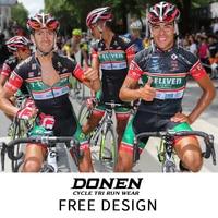 ДОНЕН индивидуальные Ropa Ciclismo пользовательские Майки спортивные велосипед Пользовательские Велосипедная форма Доступное пользовательски