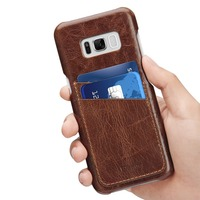 For Samsung Galaxy S8 Case Benuo Vintage Genuine Leather Slim Phone Case Back Cover For Samsung