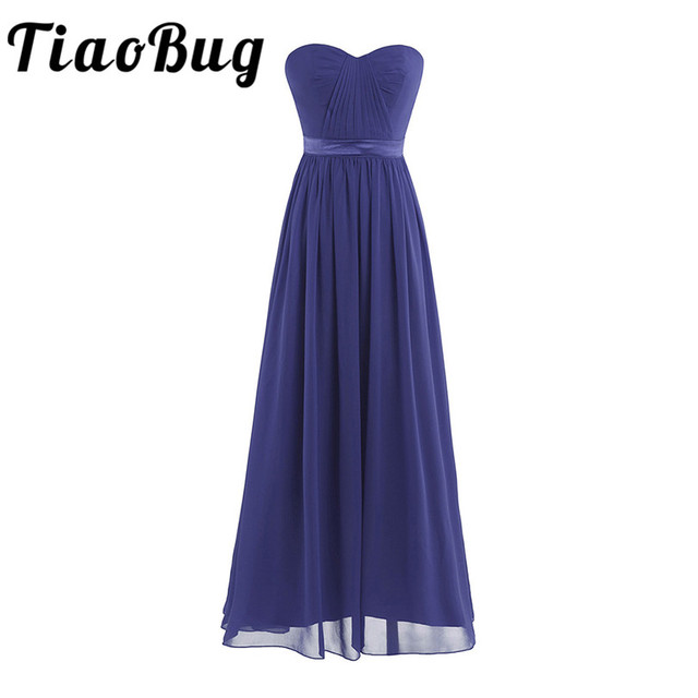 TiaoBug Sexy Frauen Damen Marineblau Sommer Eleganter V ausschnitt ...