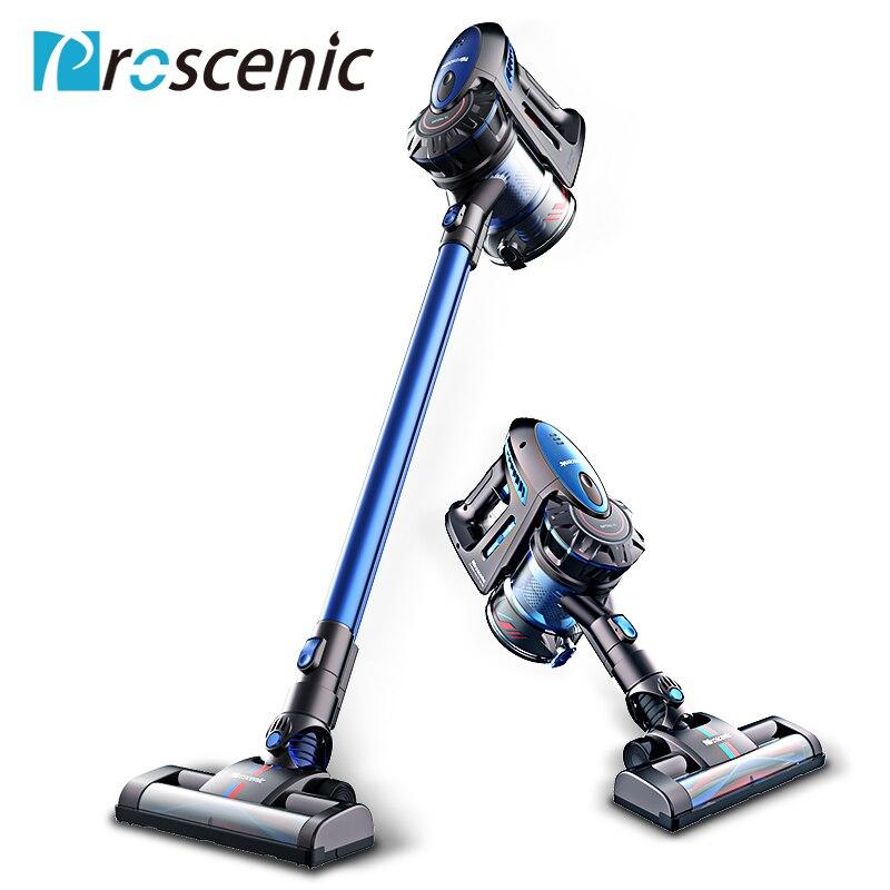 Proscenic P8 Leggero Cordless Vacuum Cleaner Batteria Ricaricabile Staccabile Senza Sacchetto Aspirapolvere Tenuto In Mano