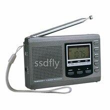 ФОТО 2017 mobile radio fm / mw / sw receiver, dsp digital alarm clock radio with fm emergency y4408h fm radio receiver