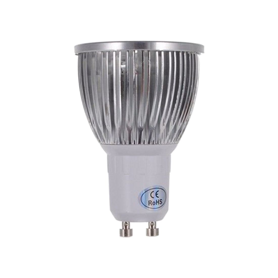 Pure / Warm LED Light Bulb - Warm White Base Power: GU10-8W-4LED- 220V - 4