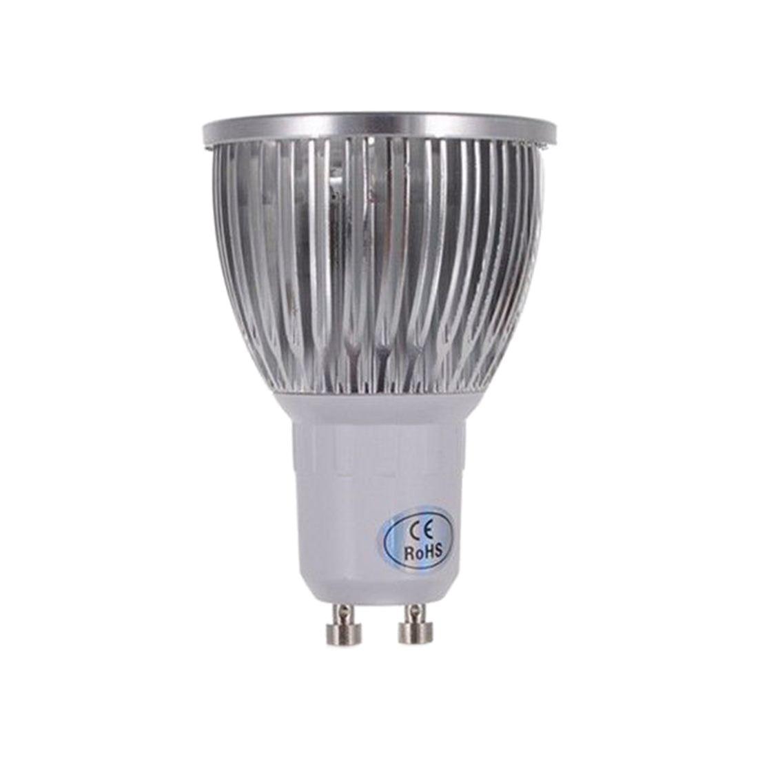 Pure / Warm LED Light Bulb - Warm White Base Power: GU10-8W-4LED- 220V - 4