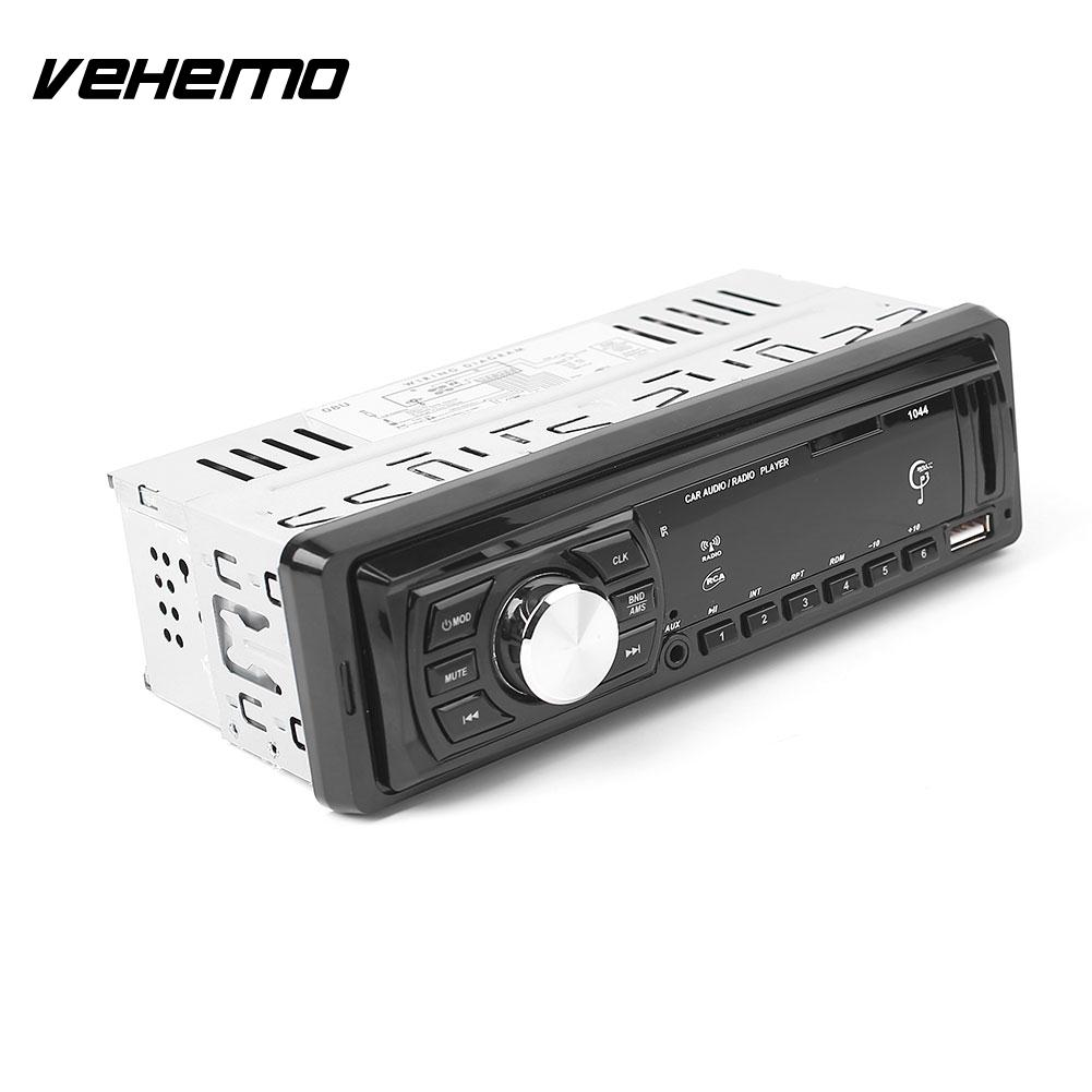 Car USB Input Radio MP3 WMA Player Receiver Stereo Audio In Dash 3.6 inches