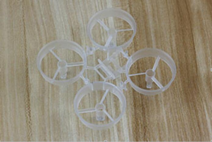 2pcs Transparent Frame Rack for Kingkong Tiny6 Tiny7 RC Racing Drone Quadcopter frog lite fission version frame base rack chassis for rc fpv racing drone quadcopter