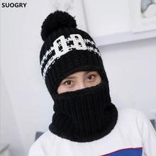 87ba793c38b2a 1 unid a prueba de viento de los hombres de invierno de lana de esquí de  bufanda sombrero tapa para las mujeres sombrero orejera.