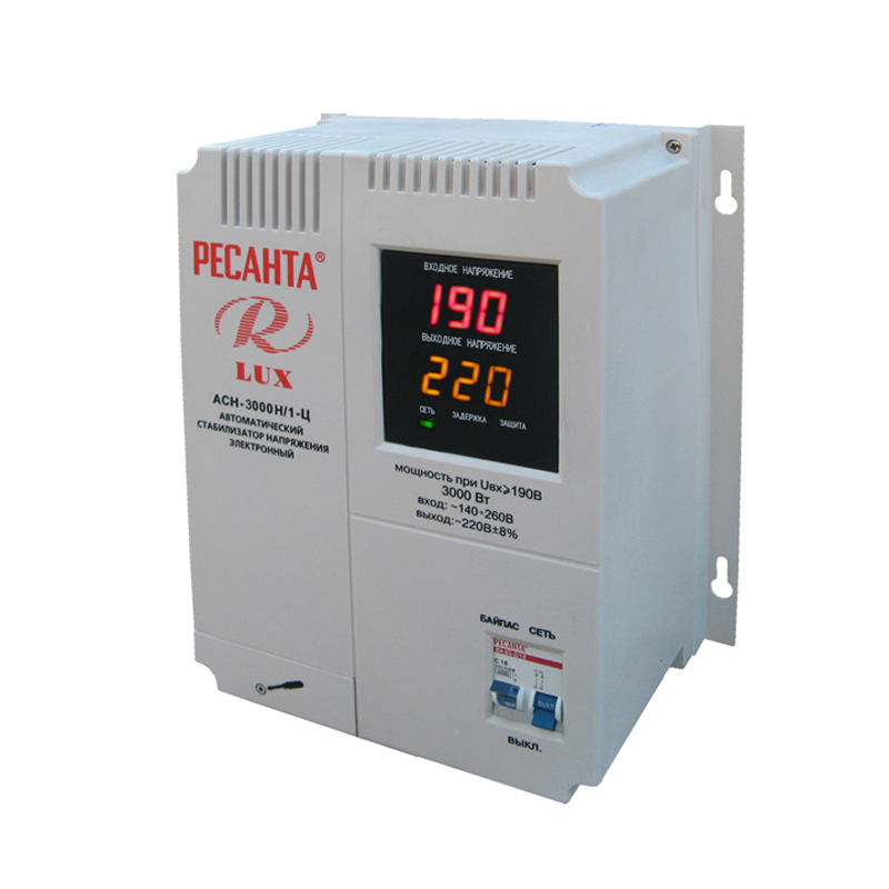 Voltage stabilizer RESANTA ASN-3000N/1-C