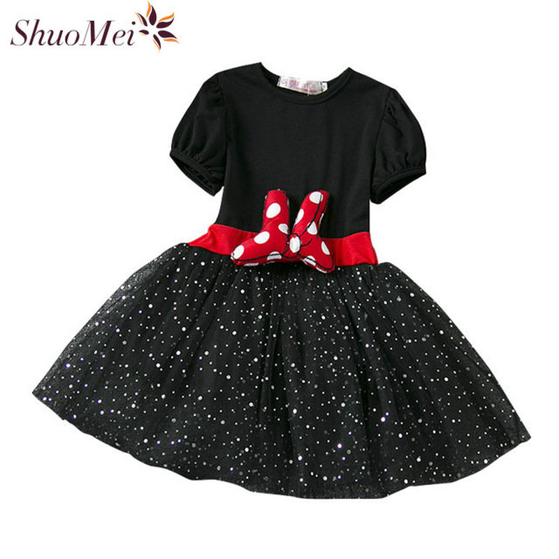 Summer Children ClothinG Baby Girl Christmas Dress Girls Party Princess Dress Minnie Mouse Dress Kids Clothes For Girls Vestidos baby girl summer dress children res minnie mouse sleeveless clothes kids casual cotton casual clothing princess girls dresses page 8