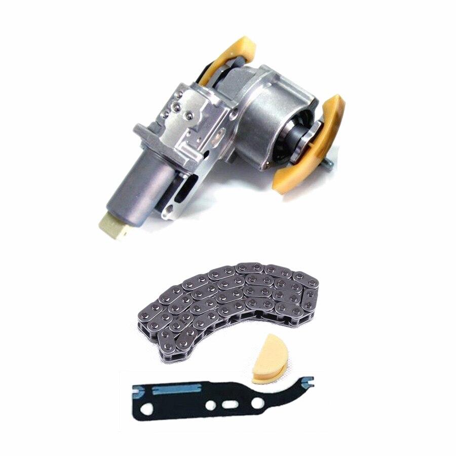 TUKE OEM 078109087C camshaft chain tensioner+Chaine+Joint Pour VW Passat B5 Superbe A4 A6 2.4T 2.7T 2.8T V6 058109229B 058198217
