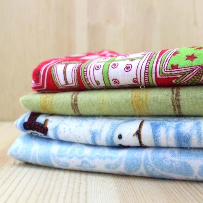 navidad tela de punto de algodn telas para ropa de retazos ropa de costura y tela