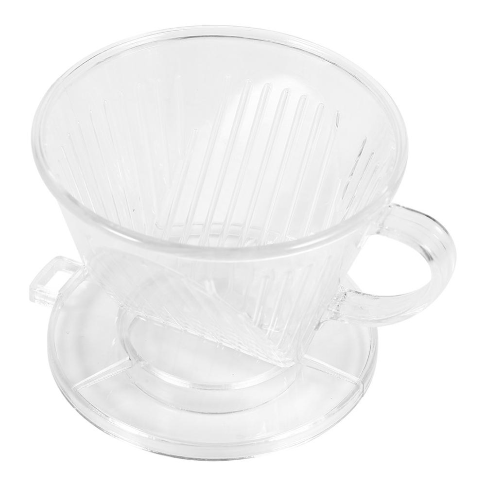 Transparent Reusable Coffee Filter Cone-shaped Portable Dripper Filters Funnel Metal Mesh Coffee Tea Filter Tools