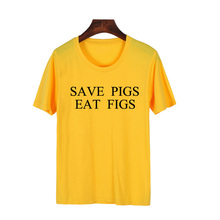 """Save Pigs Eat Figs"" women shirt"