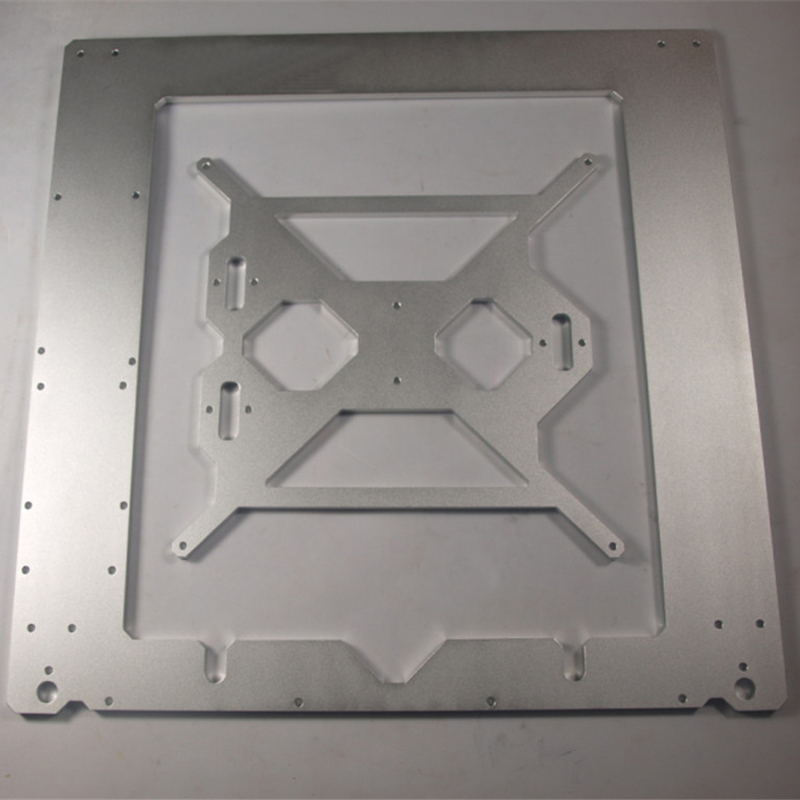 3D printer frame Compatible with Reprap Mendel Prusa i3 frame case 6mm thickness oxidation aluminum alloy
