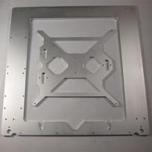 3D принтер рамка Совместима с Reprap Мендель Prusa i3 корпус рама 6 мм толщина окисления алюминиевого сплава металлический корпус