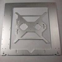 Reprap Mendel Prusa i3 3D yazıcı ile Uyumlu çerçeve çerçeve kılıf 6mm kalınlığı oksidasyon alüminyum alaşım metal kasa