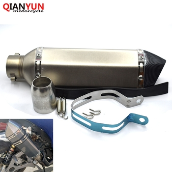 General Motorcycle Parts Exhaust Pipe 36-51 mm Stainless Steel Motorcycle Exhaust Pipe For HONDA PCX 125/150 PCX125 PCX150
