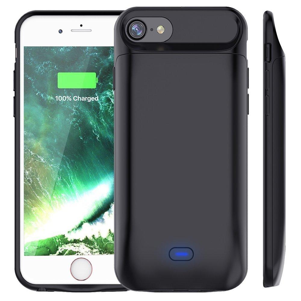 cea5544f9fa Nouveau 5000 mah/7200 mah chargeur batterie étui pour iphone 6 7 8 housse de