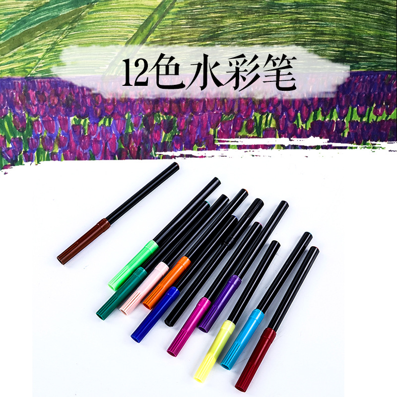 Image 3 - 64pcs/set kids gift educational drawing set crayon brush chalk sketch pencil Water color powder eraser painting school supply-in Art Sets from Office & School Supplies