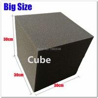 Black 4pcs 30*30*30cm Soundproof foam/acoustic foam acoustic panel Acoustic Cube Foam Studio Foam in Corner Wall