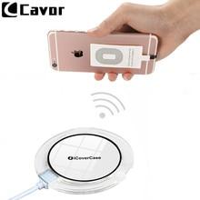 Ци беспроводной зарядки чехол для Apple Iphone 5 5S Se 5C 6 S 6 S 7 Plus питания чехол беспроводное зарядное устройство зарядки Pad беспроводной зарядки приемник и чехол Прозрачный корпус мобильного телефона TPU