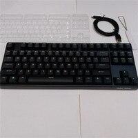 TKL ganss Mechanical keyboard 87 keys Double shot PBT Bluetooth keyboard game keyboard cherry mx brown blue switch