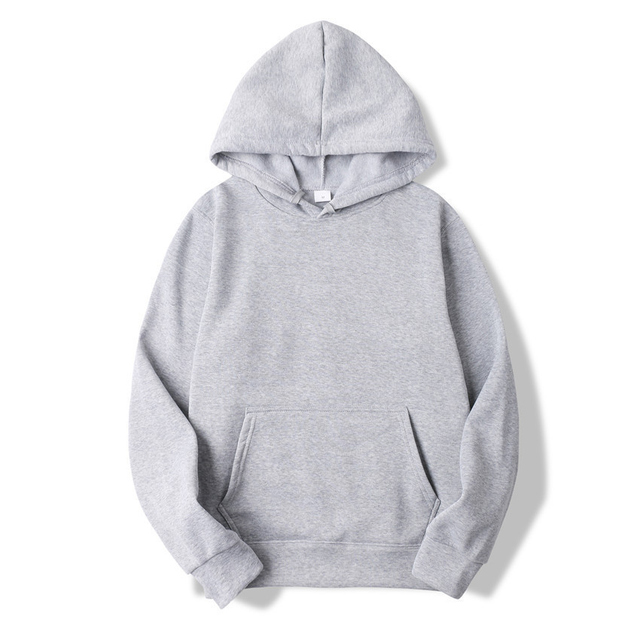 Fashion Solid Color Hoodies 8