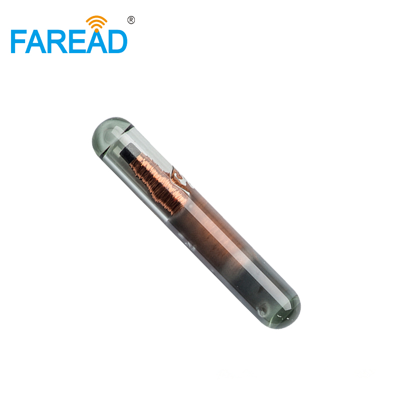 X20pcs LF RFID Glass Tags 2.12x12mm Micro Chip 125KHz UID/ID64/Manchester/Unique/64bit Implants Transponder For Access Control
