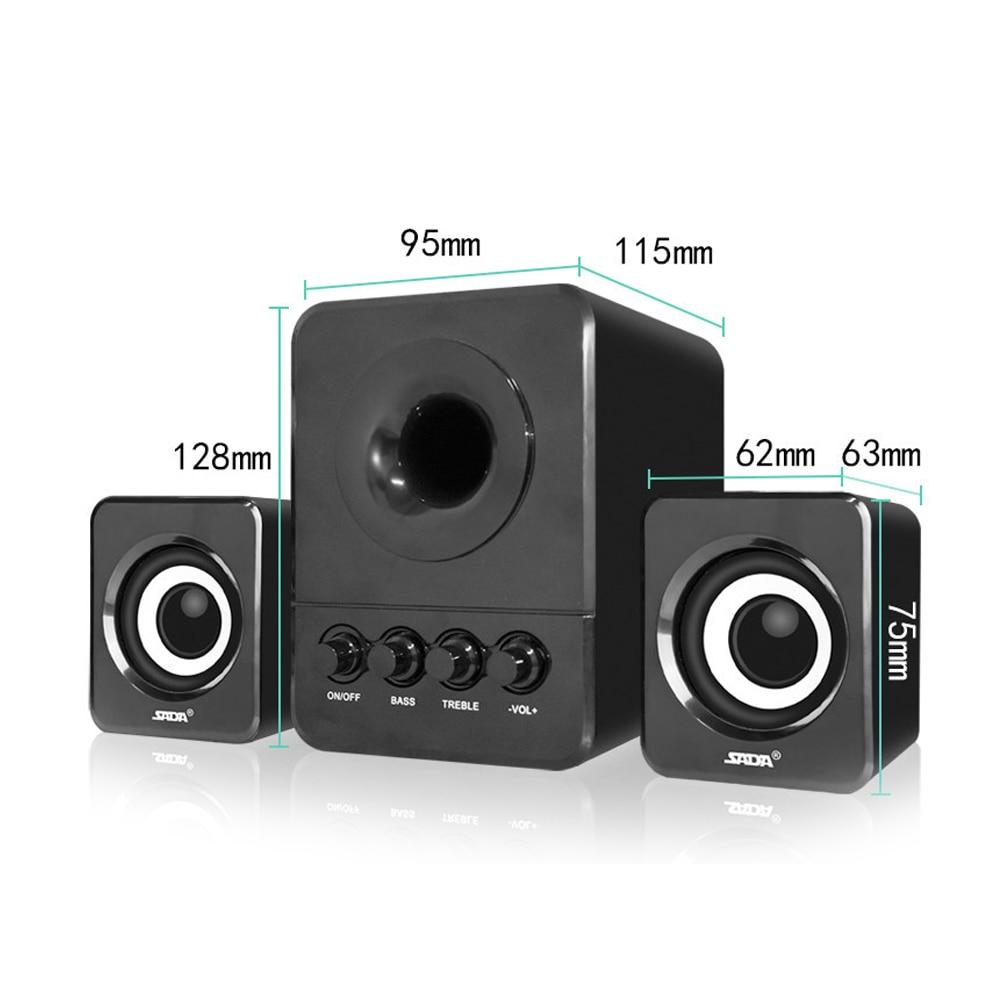 Usb Multimedia στερεοφωνικά ηχεία - Φορητό ήχο και βίντεο - Φωτογραφία 2