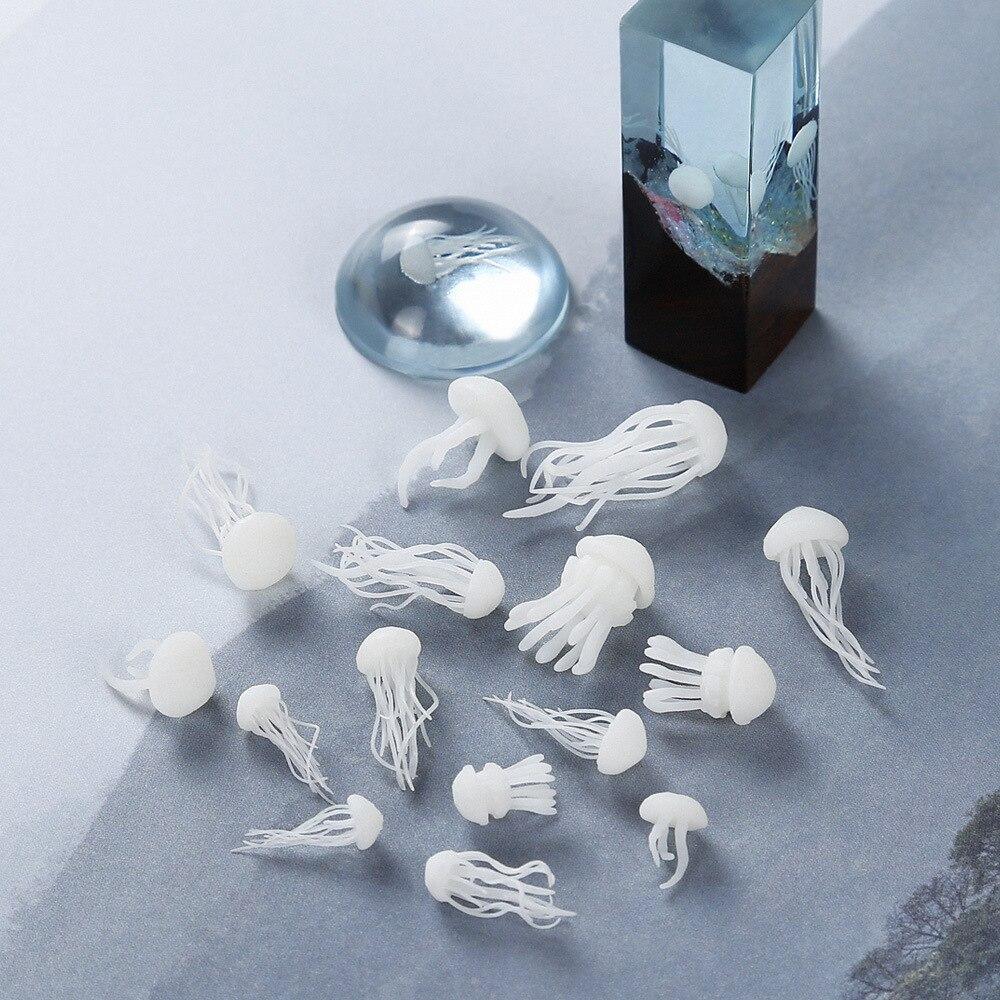 3 шт./лот стерео печать несколько вариантов Медузы пленка DIY ремесло ногтей ручной работы смолы ювелирные изделия материал прозрачная бумаг...