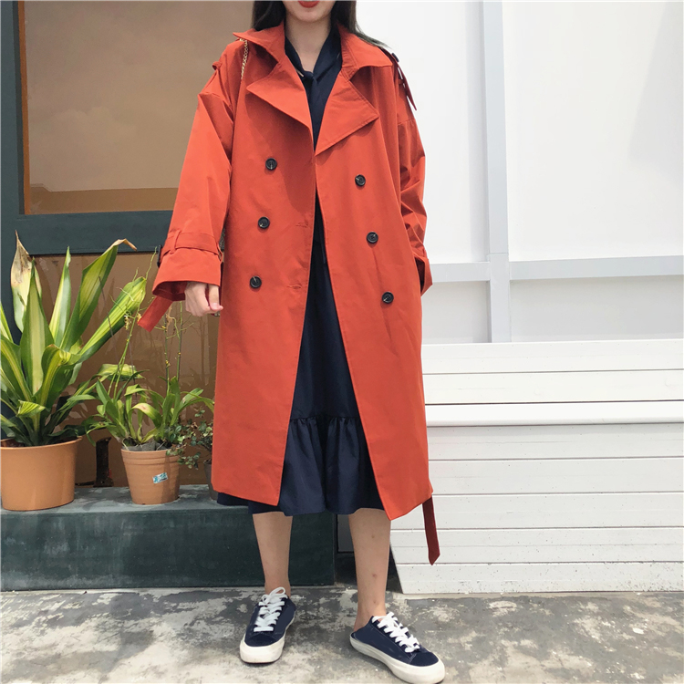 Cheap Wholesale 2019 New Spring Autumn Hot Selling Women's Fashion Casual Windbreaker MC335