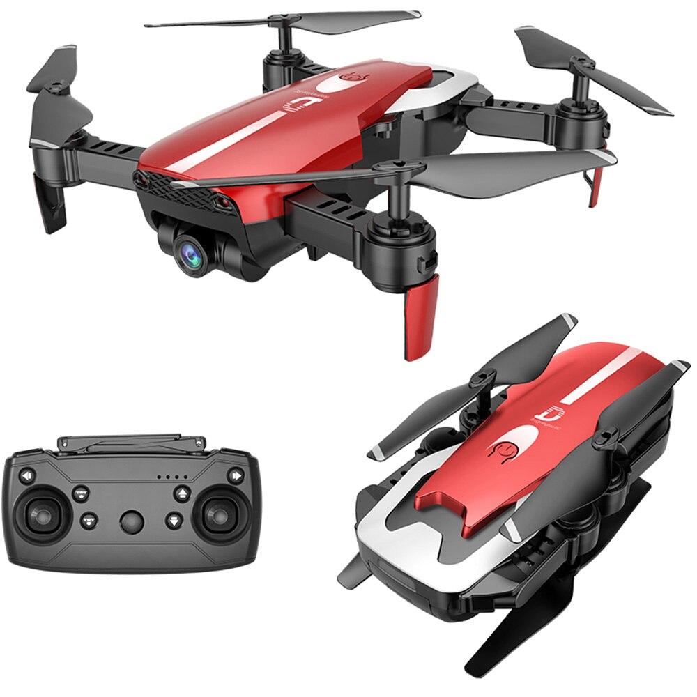 Más nuevo X12 helicópteros RC gran angular HD Cámara WiFi FPV Mini Drones helicóptero Hight mantener plegable Quadcopter Drone juguetes regalos