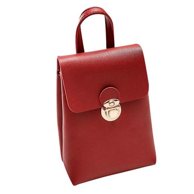 0cc3c7f7532b Women Casual Tote Bags Shoulder Handbags Messenger Satchel Crossbody Phone Bag  Leather Handbag Designer Clutch Crossbody Bags YL