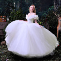 High Quality Amazing White Cinderella Quinceanera Dresses Ball Gown Beaded Sweet 16 Dresses Girl Dress Cheap Quinceanera Gown